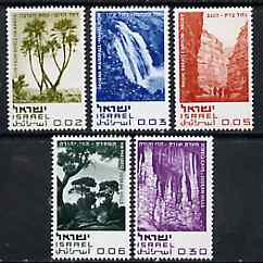 Israel 1970 Nature Reserves set of 5 unmounted mint, SG 432-36*