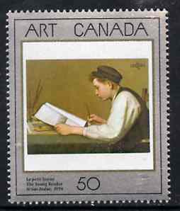 Canada 1988 Canadian Art (1st series) The Young Reader unmounted mint SG 1289*