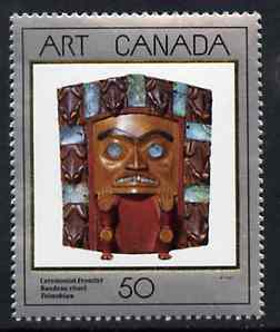 Canada 1989 Canadian Art - 2nd series - Ceremonial Mask unmounted mint SG 1327*