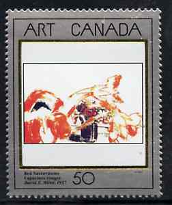 Canada 1992 Canadian Art - 5th series - Red Nasturtiums unmounted mint SG 1504*