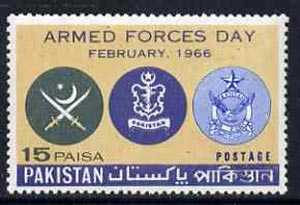 Pakistan 1966 Armed Forces Day unmounted mint, SG 229*