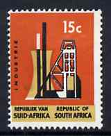 South Africa 1972 Industry 15c (Redrawn no wmk) unmounted mint, SG 322*