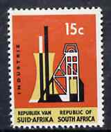South Africa 1964 Industry 15c (Redrawn & wmk'd) unmounted mint, SG 248*