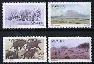 South West Africa 1983 Painters set of 4 unmounted mint, SG 415-18*