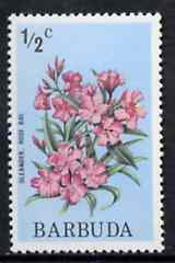 Barbuda 1974 Flowers (Rose Bay) 1/2c from pictorial def set, SG 181 unmounted mint*