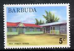 Barbuda 1974 Holy Trinity School 5c from pictorial def set, SG 186 unmounted mint*