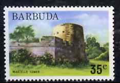 Barbuda 1974 Martello Tower 35c from pictorial def set, SG 192 unmounted mint*