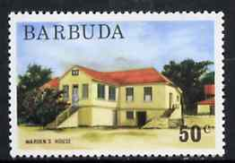 Barbuda 1974 Warden's House 50c from pictorial def set, SG 193 unmounted mint*