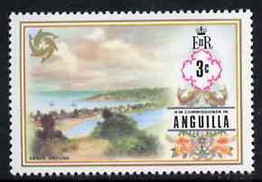 Anguilla 1972-75 Sandy Ground 3c from def set, SG 132 unmounted mint