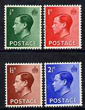 Great Britain 1936 KE8 set of 4 unmounted mint SG 457-60