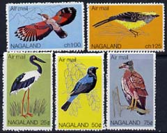Nagaland 1969 Birds set of 5 from Wildlife definitive set unmounted mint*