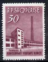 Albania 1963 Fruit Bottling Plant 30L unmounted mint, Mi 786