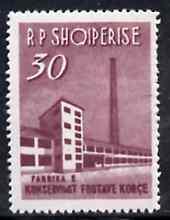 Albania 1963 Fruit Bottling Plant 30L unmounted mint, Mi 786