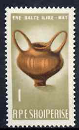 Albania 1965 Wine Vessel 1L unmounted mint, Mi 954