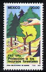 Mexico 1984 Protection of Forest Resources unmounted mint, SG 1707*