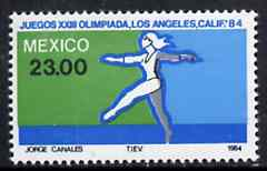Mexico 1984 Gymnastics 23p from Olympic Games set, SG 1710 unmounted mint*