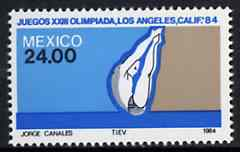 Mexico 1984 Diving 24p from Olympic Games set, SG 1711 unmounted mint*