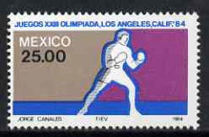 Mexico 1984 Boxing 25p from Olympic Games set, SG 1712 unmounted mint*
