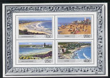South Africa 1983 Tourist Beaches m/sheet unmounted mint, SG MS 553