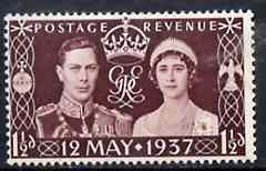 Great Britain 1937 KG6 Coronation unmounted mint*