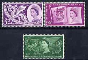 Great Britain 1961 CEPT Conference set of 3 unmounted mint, SG 626-28*