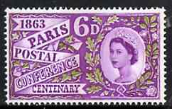 Great Britain 1963 Paris Postal Conference unmounted mint (phosphor) SG 636p