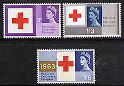 Great Britain 1964 Geographical Conference unmounted mint set of 4 (ordinary) SG 651-54*