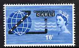 Great Britain 1963 Opening of COMPAC (Telephone Cable) unmounted mint (ordinary) SG 645*