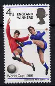 Great Britain 1966 World Cup Football - England Winners (ordinary) unmounted mint