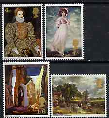 Great Britain 1968 British Paintings unmounted mint set of 4