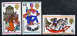 Great Britain 1968 Christmas unmounted mint set of 3, SG 775-77*