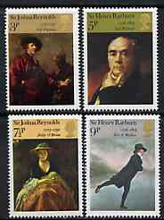 Great Britain 1973 British Paintings unmounted mint set of 4 SG 931-34, stamps on arts