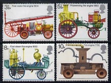 Great Britain 1974 Fire Service unmounted mint set of 4, SG 950-53