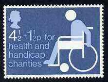 Great Britain 1975 Health & Handicap Funds (4.5p + 1.5p) unmounted mint SG 970