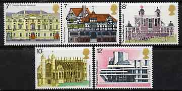 Great Britain 1975 European Architectural Heritage Year set of 5 unmounted mint, SG 975-79