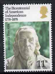 Great Britain 1976 Bicentenary of American Revolution unmounted mint, SG 1005*