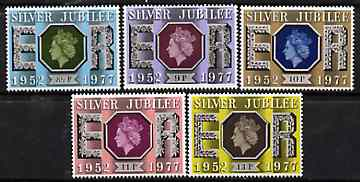 Great Britain 1977 Silver Jubilee set of 5 unmounted mint SG 1033-37