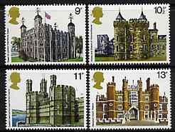 Great Britain 1978 British Architecture (Historic Buildings) unmounted mint set of 4 SG 1054-57