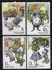 Great Britain 1979 International Year of The Child (Illustrations from Children's Books) unmounted mint set of 4 SG 1091-94 (gutter pairs available price x 2)