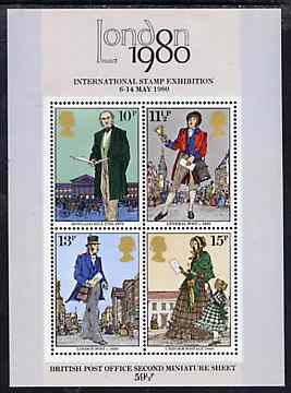 Great Britain 1979 Death Centenary of Sir Rowland Hill m/sheet unmounted mint, SG MS 1099