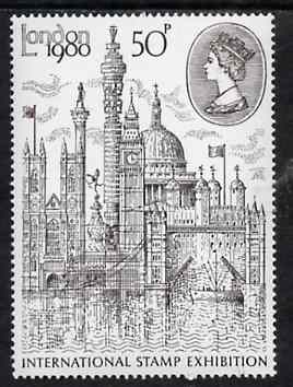 Great Britain 1980 'London 1980' International Stamp Exhibition, unmounted mint SG 1118 (gutter pairs available price x 2)
