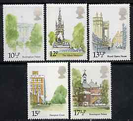 Great Britain 1980 London Landmarks set of 5 unmounted mint, SG 1120-24 (gutter pairs available price x 2)