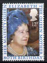 Great Britain 1980 Queen Mother 80th Birthday, unmounted mint SG 1129*