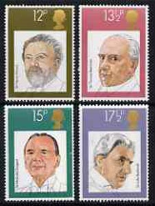 Great Britain 1980 British Conductors unmounted mint set of 4 SG 1130-33 (gutter pairs available price x 2)