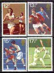 Great Britain 1980 Sport Centenaries unmounted mint set of 4 SG 1134-37 (gutter pairs available price x 2)
