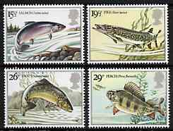 Great Britain 1983 British River Fishes unmounted mint set of 4 SG 1207-10 (gutter pairs available price x 2)