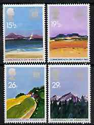 Great Britain 1983 Commonwealth Day (Geographical Regions) unmounted mint set of 4 SG 1211-14 (gutter pairs available price x 2)
