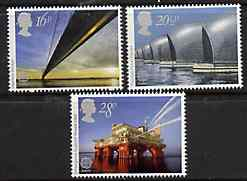 Great Britain 1983 Europa - Engineering Achievements set of 3 unmounted mint SG 1215-17  (gutter pairs available price x 2)