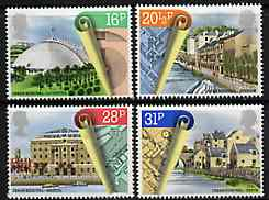 Great Britain 1984 Urban Renewal unmounted mint set of 4 SG 1245-48 (gutter pairs available price x 2)