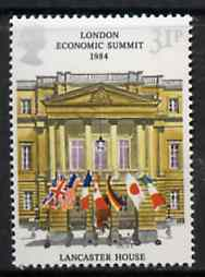 Great Britain 1984 London Economic Summit unmounted mint SG 1253 (gutter pairs available price x 2)